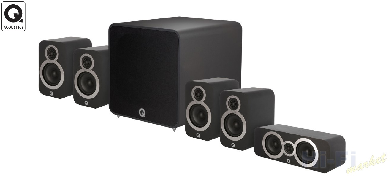 Q ACOUSTICS 3010i set 5.1 Plus