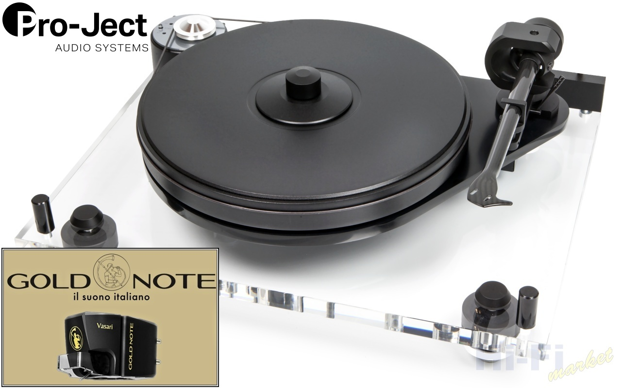 Pro-Ject 6-Perspex SB Gold Note