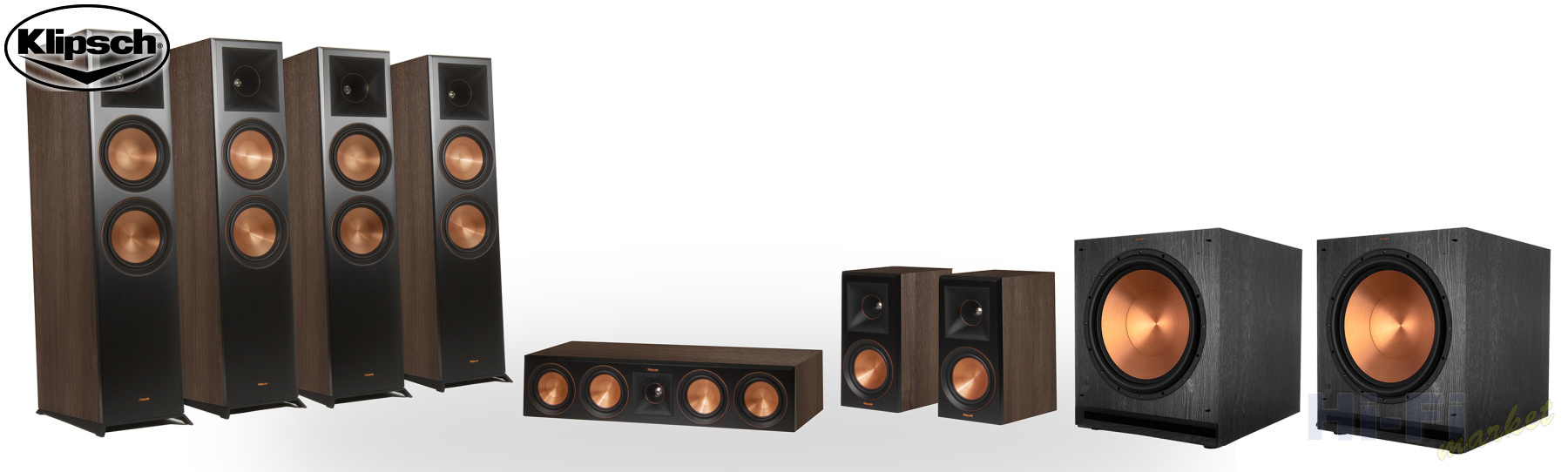 KLIPSCH Reference Premiere RP-8060FA set 7.2.4 Dolby Atmos