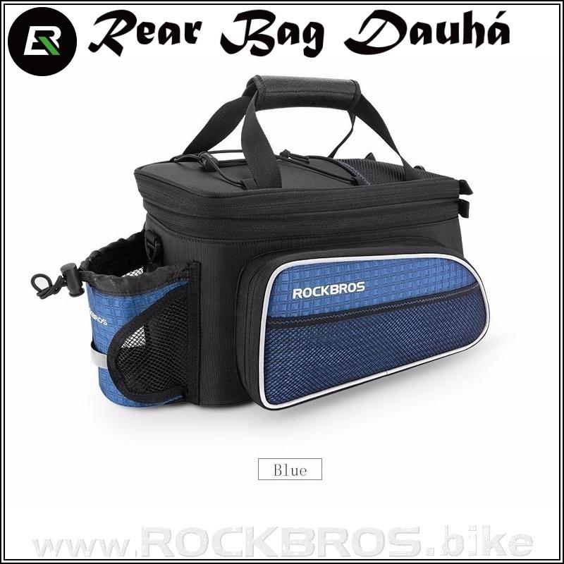 ROCKBROS Rear Bag Dauhá cyklobrašna na zadní nosič