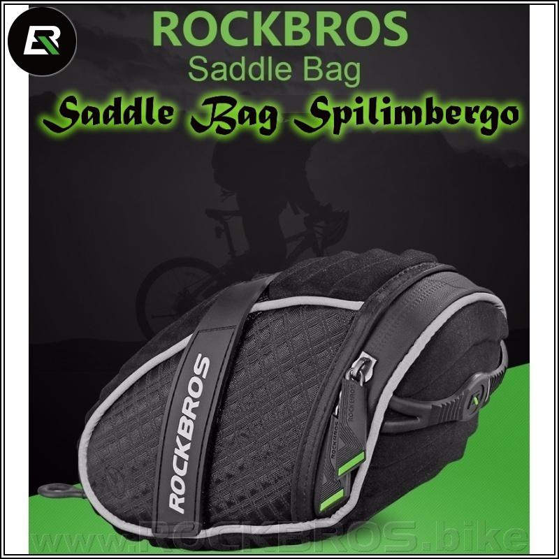ROCKBROS Saddle Bag Spilimbergo sedlová cyklobrašna
