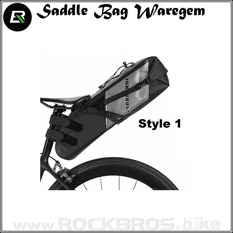 ROCKBROS Saddle Bag Waregem sedlová cyklobrašna