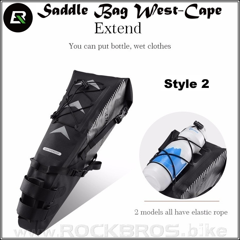 ROCKBROS Saddle Bag West-Cape sedlová cyklobrašna