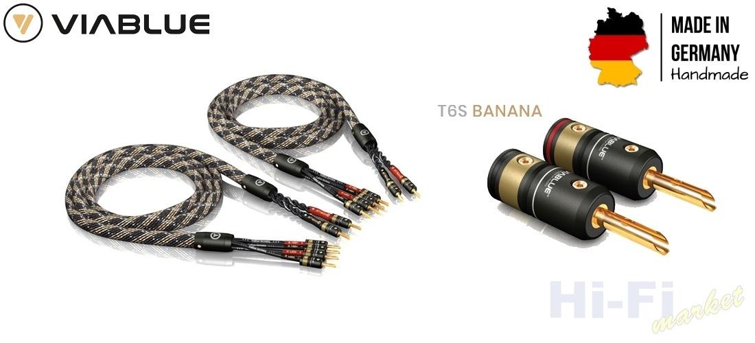 VIABLUE SC-4 T6s Bi-Wire