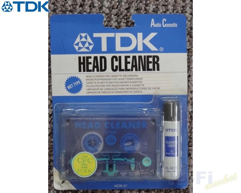 TDK čistící magnetofonová kazeta HCW-01