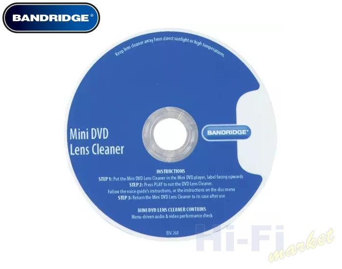 BANDRIDGE mini čistič DVD BSC268
