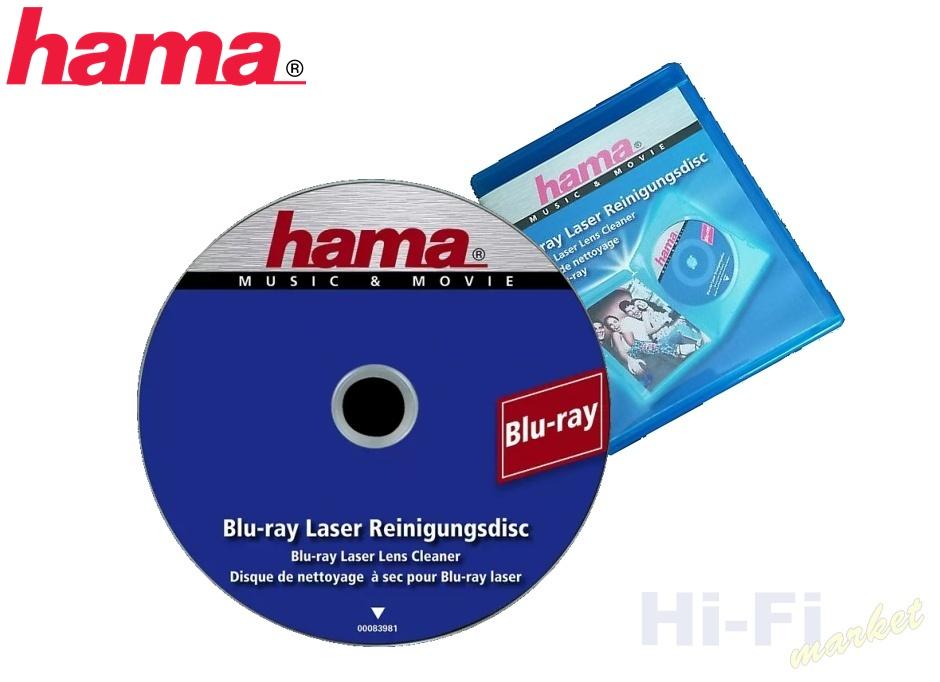 HAMA čistící Blu-ray 083981