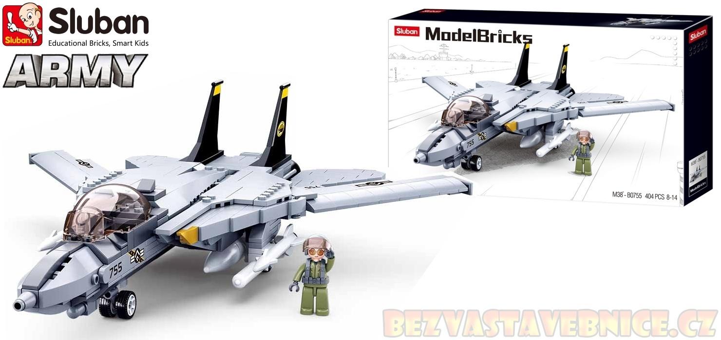 SLUBAN Army - Moderní stíhací letoun