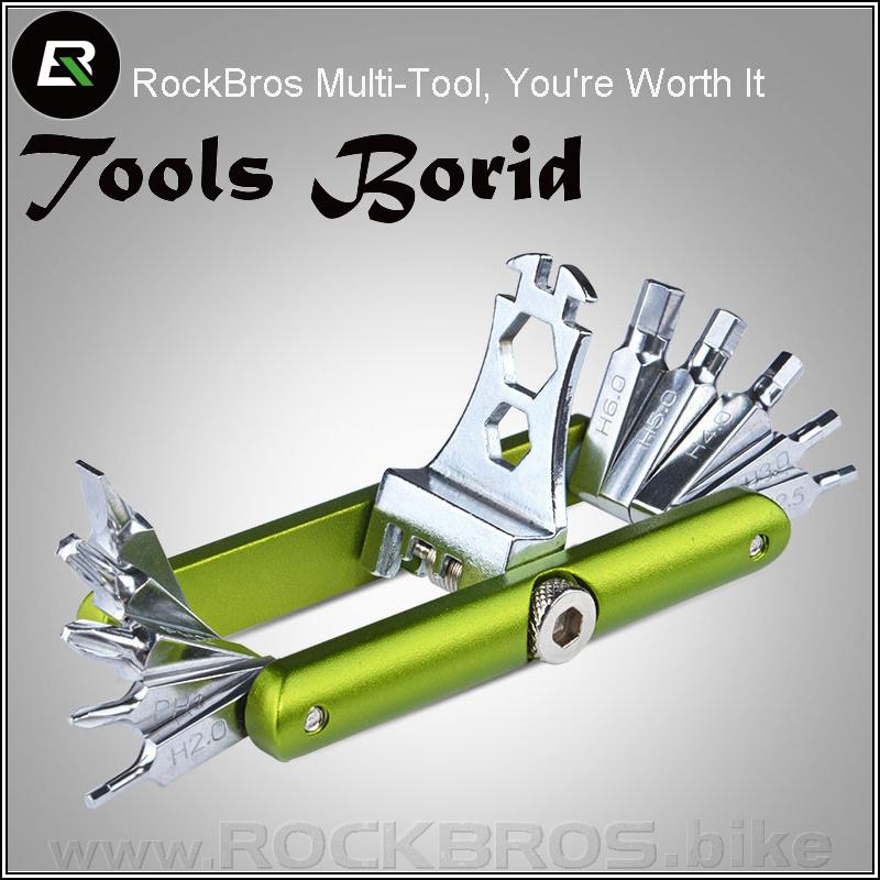 ROCKBROS Tools Borid multifunkční nářadí (14 in 1)