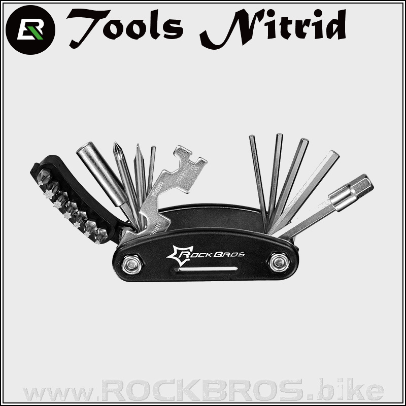 ROCKBROS Tools Nitrid multifunkční nářadí (16 in 1)