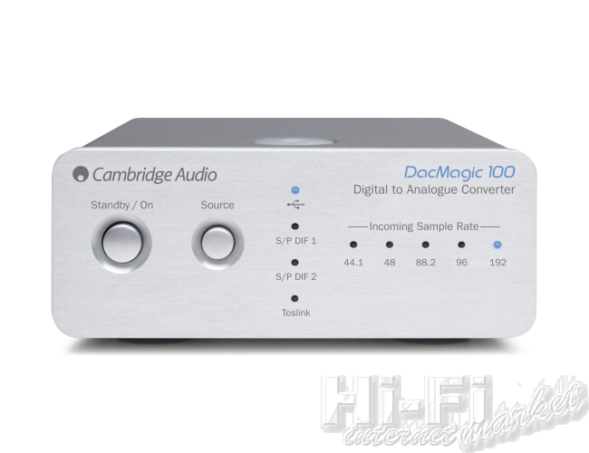 CAMBRIDGE AUDIO DacMagic 100 stříbrná