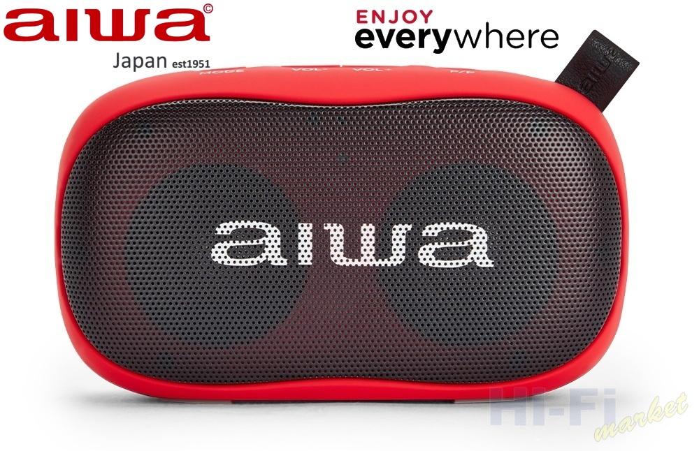 AIWA BS-110RD červená