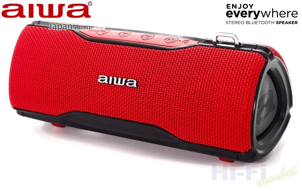 AIWA BST-500RD červená