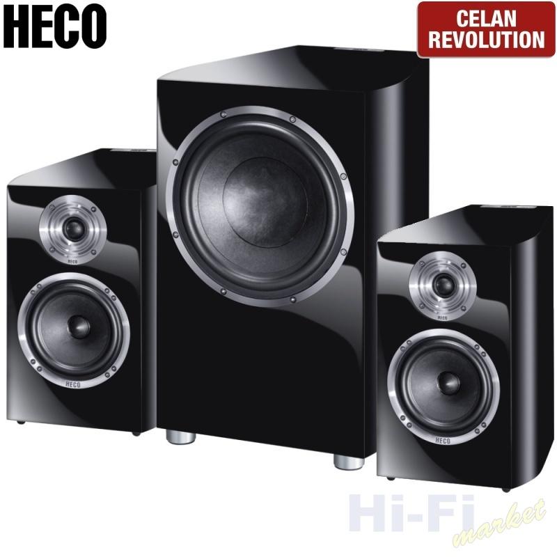 HECO Celan Revolution 3 set 2.1