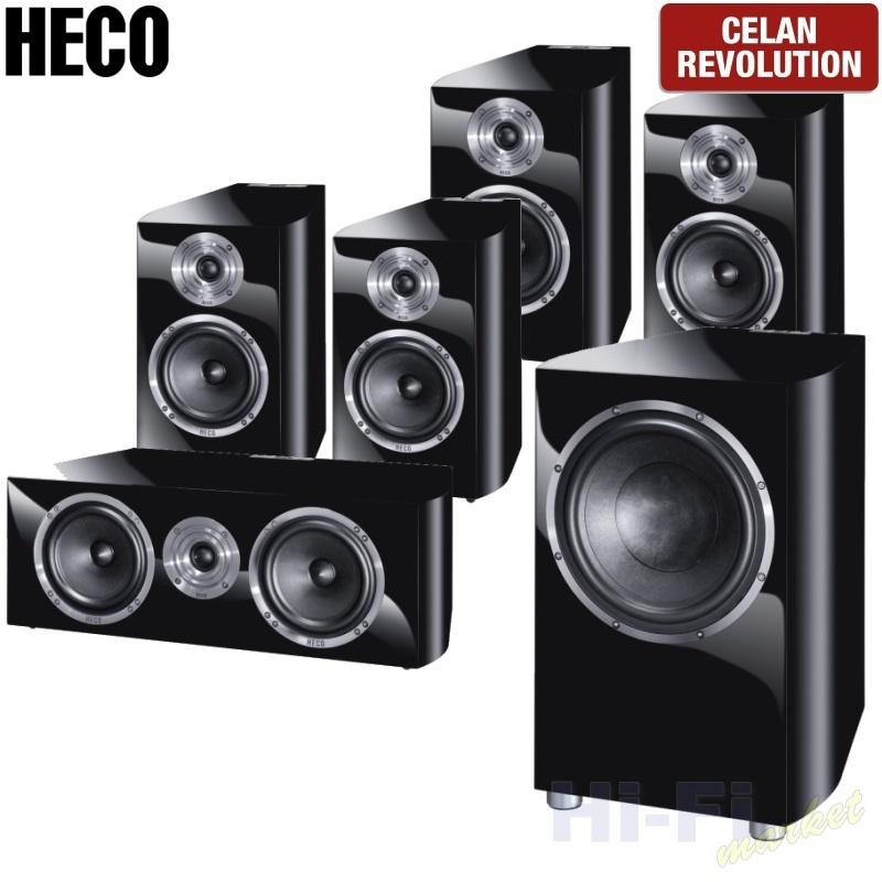 HECO Celan Revolution 3 set 5.1