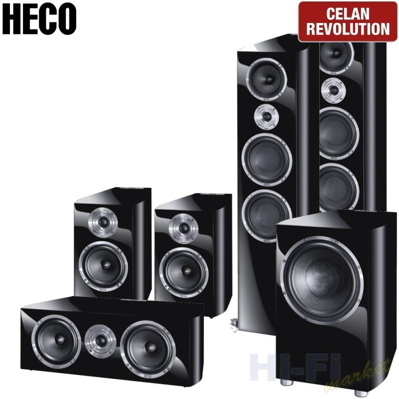HECO Celan Revolution 9 set 5.1