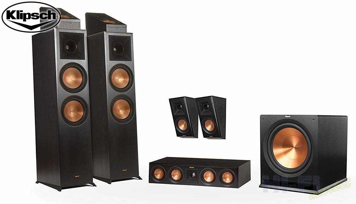KLIPSCH Reference Premiere RP-8000F set 5.1.2 Dolby Atmos