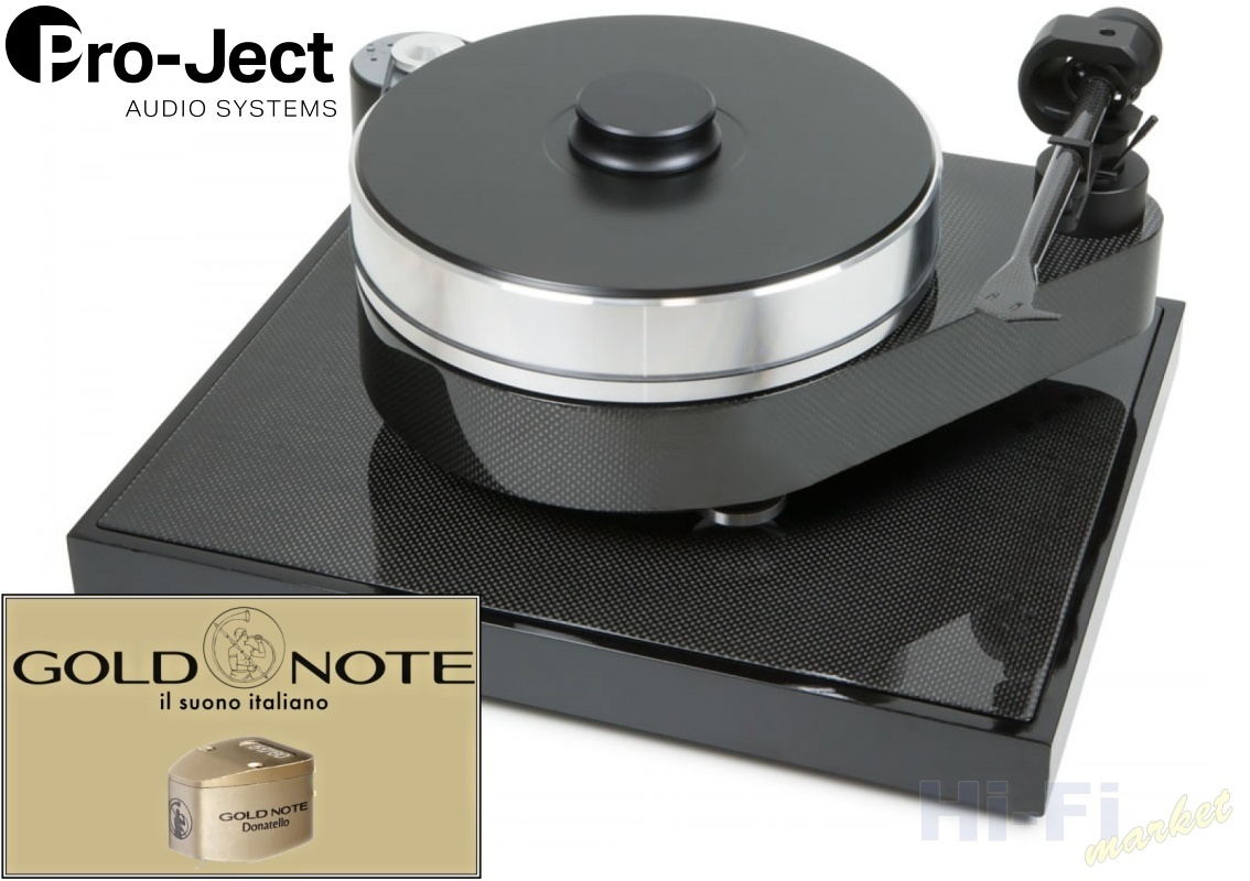 Pro-Ject RPM 10 Carbon Gold Note