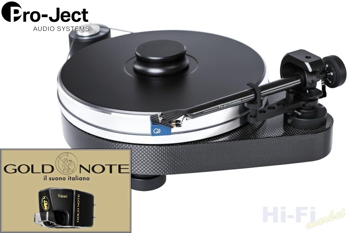 Pro-Ject RPM 9 Carbon Gold Note