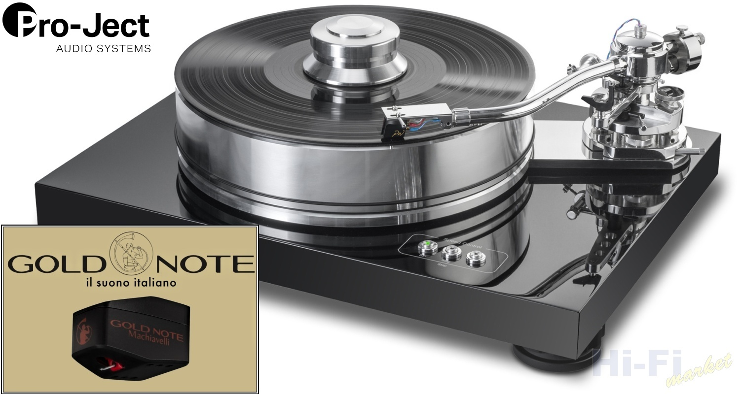 Pro-Ject Signature 10 Gold Note