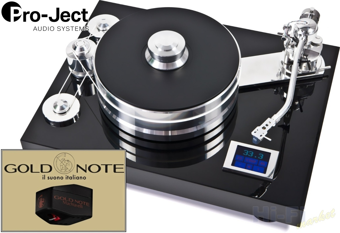 Pro-Ject Signature 12 Gold Note