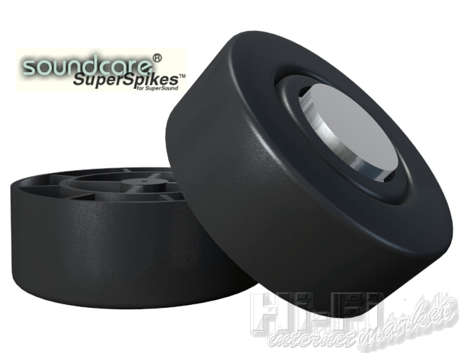 SOUNDCARE Super Spiked feet