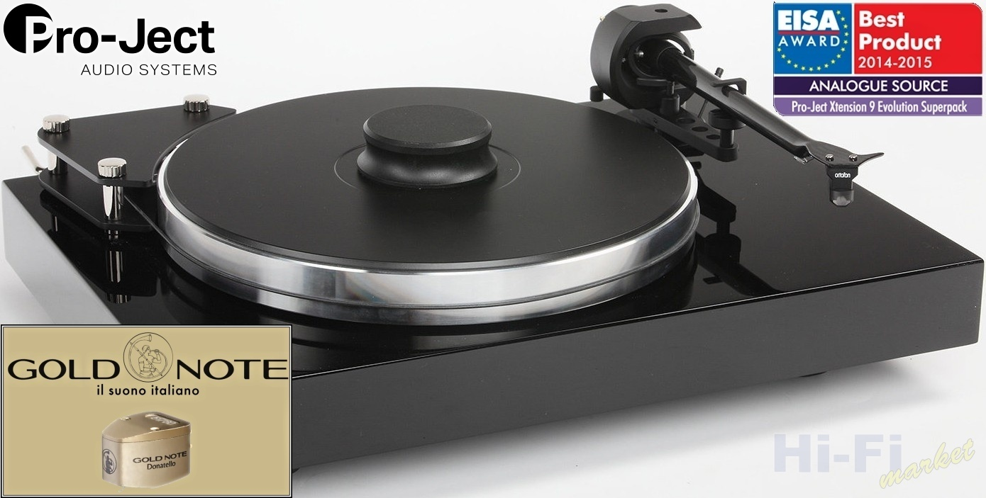 Pro-Ject Xtension 9 Gold Note
